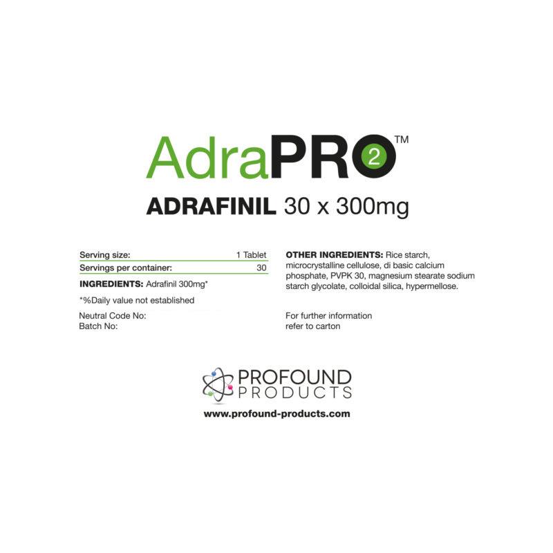 adrafinil label